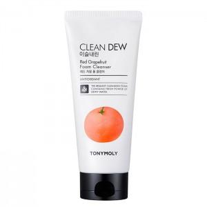 Пенка для умывания с грейпфрутом TONY MOLY Clean Dew Red Grapefruit Foam Cleanser - 180 мл