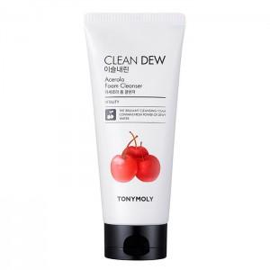 Пенка для умывания с ацеролой TONY MOLY Clean Dew Acerola Foam Cleanser - 180 мл
