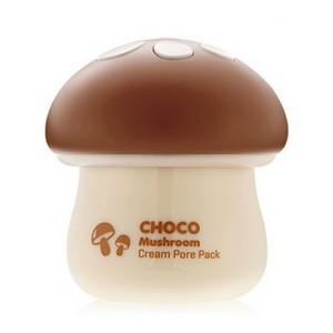 Маска для очищения и сужения пор TONY MOLY Magic Food Choco Mushroom Cream Pore Pack - 70ml