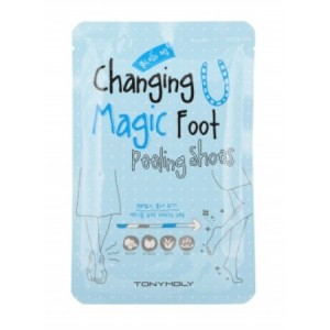 Пилинг-носочки для ног TONY MOLY Changing U Magic Foot Peeling Shoes