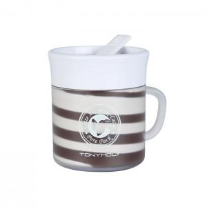 Маска для сужения пор TONY MOLY Latte Art Milk - Cacao Pore Pack - 85 гр.