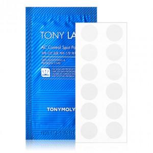 Патчи от воспалений TONY MOLY TonyLab AC Control Spot Patch - 12шт