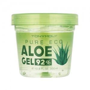 Многофункциональный увлажняющий гель алоэ вера 92% TONY MOLY Pure Eco Aloe Gel - 300ml