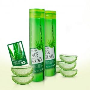 Мультигель 10 в 1 с алоэ вера THE YEON 10 in 1 Real Aloe Gel 92% - 300 мл