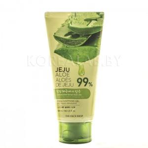Успокаивающий гель для лица и тела THE FACE SHOP Jeju Aloe Fresh Soothing Gel (Tube) - 300ml