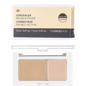 Консилер двойное покрытие THE FACE SHOP Concealer Double Cover - 3g