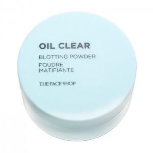 Прозрачная матирующая пудра для лица THE FACE SHOP Oil Clear Blotting Powder - 6g