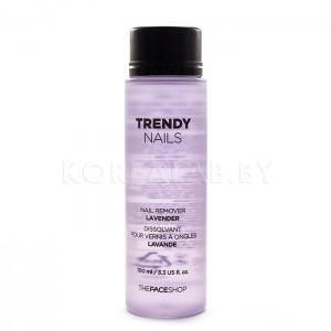 Жидкость для снятия лака THE FACE SHOP Trendy Nail Remover Lavender - 100ml