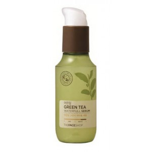 Увлажняющая сыворотка THE FACE SHOP Baby Leaf Green Tea Waterfull Serum - 60ml
