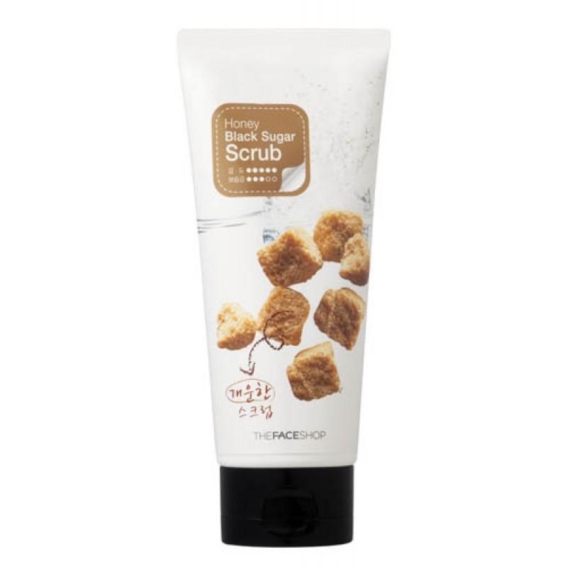 Пилинг-скраб для лица THE FACE SHOP Smart Peeling Honey Black Sugar Scrub 120 мл