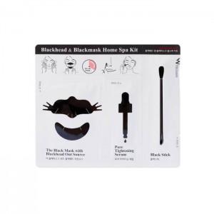 Набор от черных точек WISH FORMULA Blackhead and Blackmask Home Spa Kit - 1 шт