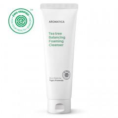 Пенка для умывания с чайным деревом для жирной кожи AROMATICA Tea Tree Balancing Foaming Cleanser - 180 мл
