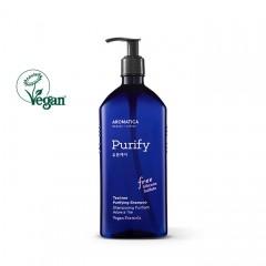 Бессульфатный шампунь для жирной кожи головы AROMATICA Tea Tree Purifying Shampoo - 400 мл