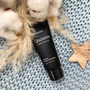 Миниатюра бессульфатного шампуня AROMATICA Quinoa Protein Hair Shampoo 20 мл