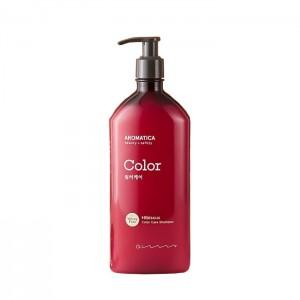 Шампунь для окрашенных волос с гибискусом AROMATICA Hibiscus Color Care Shampoo - 400 мл