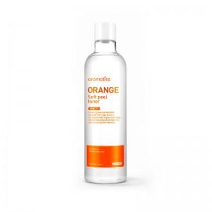 Отшелушивающий тонер с апельсином AROMATICA Orange Soft Peel Toner 375 мл