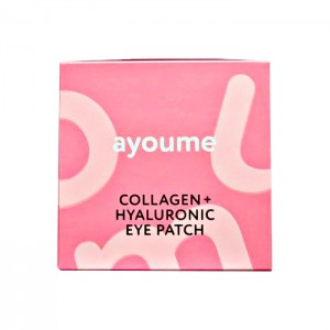 Увлажняющие гидрогелевые патчи AYOUME Collagen Hyaluronic Eye Patch - 60 шт