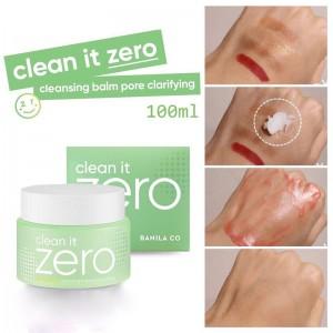 Очищающий щербет с кислотами для глубокого очищения пор BANILA Co Clean It Zero Cleansing Balm Pore Clarifying 100мл