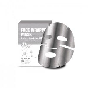 Маска-обертывание с гиалуроновой кислотой BERRISOM Face Wrapping Mask Hyaluronic Solution 80 - 27 гр