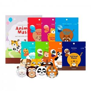 Тканевые маски с животными BERRISOM Animal Mask Series - 25 мл