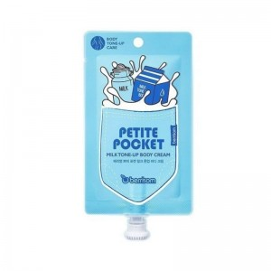 Отбеливающий крем для тела BERRISOM Petite Pocket Milk Tone Up Body Cream 30гр
