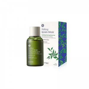 Восстанавливающая сплеш-маска с зеленым чаем BLITHE Patting Splash Mask Soothing Healing Green Tea 70 мл