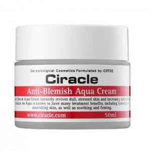 Увлажняющий крем для проблемной кожи CIRACLE Anti-Blemish Aqua Cream - 50 мл