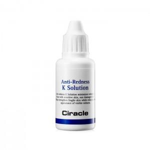 Тонер против покраснений с витамином К CIRACLE Anti-Redness K Solution - 30мл