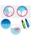 Набор зубных щеток с мягкой антибактериальной щетиной CLIO Fine All Antibacterial SC Toothbrush - 10 шт