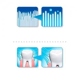 Зубная щетка с двухуровневой щетиной CLIO Antichisuk MLR Toothbrush