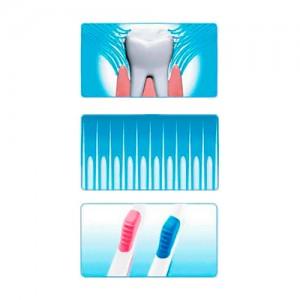Зубная щетка с двумя видами щетинок CLIO New Guard R Toothbrush