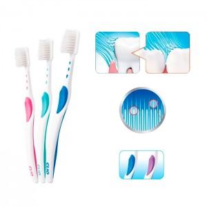 Зубная щетка с мягкой двухуровневой щетиной CLIO Sens-R Toothbrush