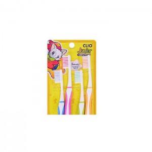 Набор зубных щеток CLIO Junior Clio Normal - 4 шт