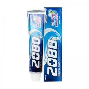 Зубная паста с мятой Dental Clinic 2080 Cavity Protection Double Mint 120 гр