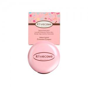 Компактная матирующая пудра для лица RIVECOWE Beyond Beauty Sebum Control Convenient Compact - 9 гр