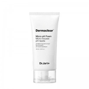 Гель-пенка для умывания DR.JART+ Dermaclear Micro pH Foam Micro-Mousse pH Neutre Balancing Gel to foam 120 мл