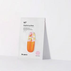 Осветляющая тканевая маска для лица с витаминным комплексом DR.JART+ V7 Brightening Mask 30 мл