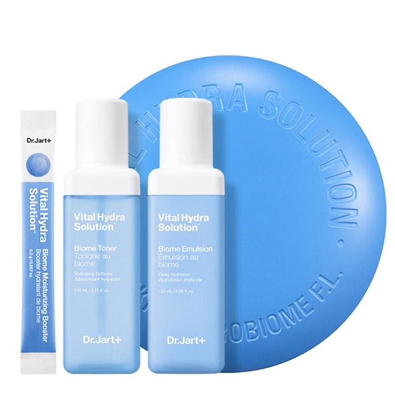 Набор для увлажнения кожи Dr.Jart+ Vital Hydra Solution Biome Kit 110+120 мл