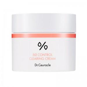 Себорегулирующий крем для жирной кожи DR.CEURACLE 5α Control Clearing Cream 50 мл