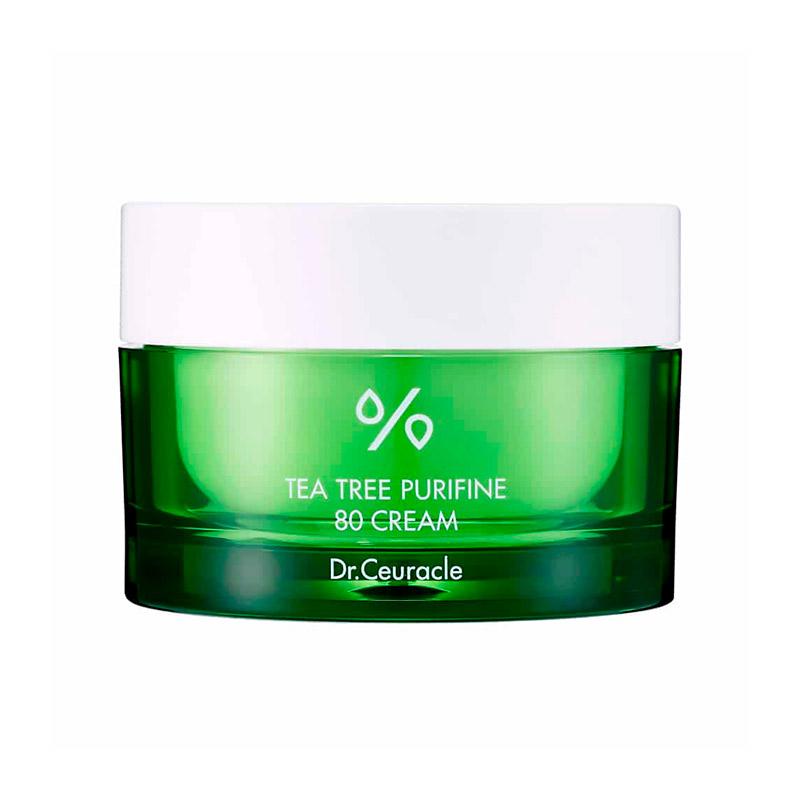 Крем с чайным деревом для проблемной кожи DR.CEURACLE Tea Tree Purifine 80 Cream 50 гр