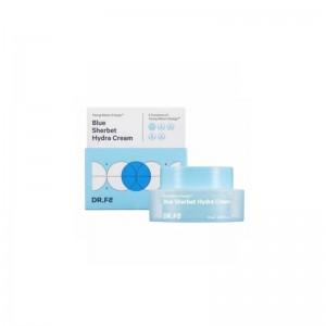 Миниатюра крема-щербета для увлажнения кожи DR.F5 Blue Sherbet Hydra Cream 12 мл