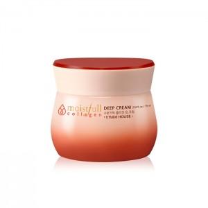 Глубоко увлажняющий крем для лица ETUDE HOUSE Moistfull Super Collagen Deep Cream - 75 мл