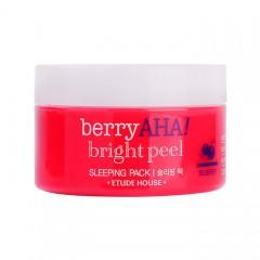 Ночная отшелушивающая маска ETUDE HOUSE Berry Aha Bright Peel Sleeping Pack - 100 мл
