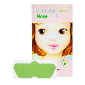 Патч от черных точек для носа ETUDE HOUSE Green Tea Nose Pack - 1 шт