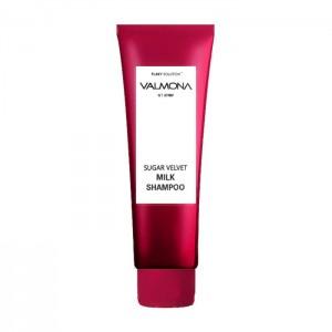 Увлажняющий шампунь EVAS Valmona Sugar Velvet Milk Shampoo  - 100/480 мл