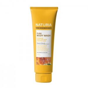 Гель для душа с медом EVAS Naturia Pure Body Wash Honey and White Lily - 100/750 мл