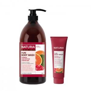 Гель для душа с апельсином EVAS Naturia Pure Body Wash Cranberry and Orange - 100/750 мл