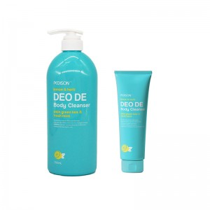Гель для душа лимон и мята EVAS Pedison Deo de Body Cleanser 100/750 мл