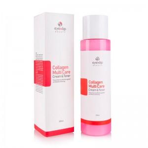 Тонер-крем с коллагеном EYENLIP Collagen Multi Care Cream Toner 200 мл