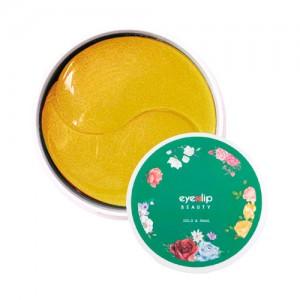 Гидрогелевые патчи с золотом и улиточным муцином EYENLIP Gold and Snail Eye Patch - 60 шт